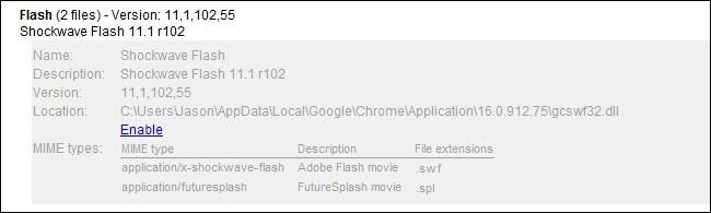 Shockwave Flash crask
