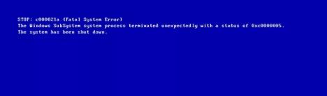 Hướng dẫn sửa lỗi 0xc000021a trên Windows 10