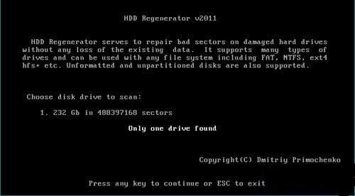Sửa ổ cứng bị Bad_3