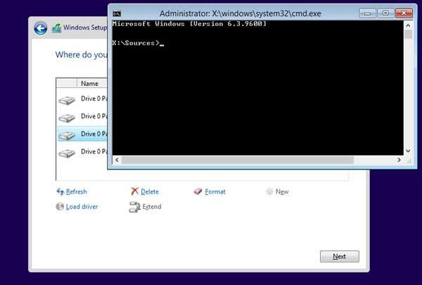 Các bước sửa lỗi the selected disk has an MBR partition table_1