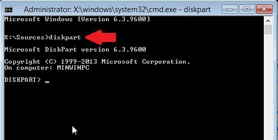 Các bước sửa lỗi the selected disk has an MBR partition table_2