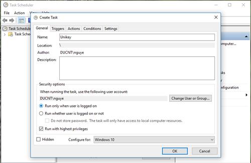 Sửa lỗi ứng dụng không khởi động cùng Windows 10
