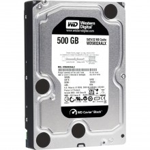 HDD Western Caviar Black 500GB 7200Rpm, SATA3 6Gb/s, 64MB Cache