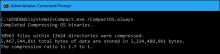 Giải phóng thêm không gian ổ đĩa với tính năng Compact OS trong Windows 10