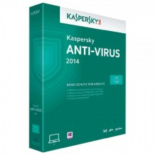 Kapersky Anti Virus 1PC/12T--2014-box