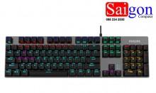 Keyboard PHILIPS SPK-8404 Đen led Chính hãng