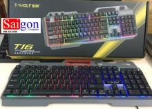Keyboard T-WOLF T16 Led 7 màu