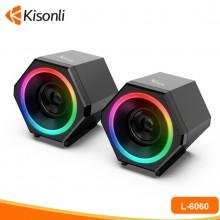 Loa vi tính Kisonli L-6060 LED chính hãng