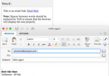 Đặt Outlook làm email mặc định cho Mac