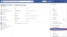 Chặn thông báo Facebook gửi về email