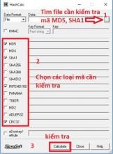 Hướng dẫn Check MD5 và SHA1 để kiểm tra tính toàn vẹn