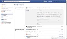 Cách chặn mail từ Facebook