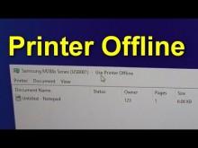 Khắc phục lỗi máy in Use Printer Offline, không in được