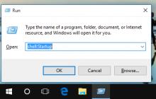 Thêm phần mềm khởi động cùng Windows 10