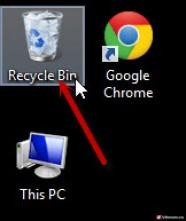Cách khôi phục file đã xóa trong thùng rác - Recycle Bin