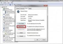 Sửa Bluetooth bị lỗi trên Windows 7