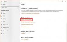 """Sửa lỗi thông báo """"No Internet, Secured"""" trên Windows 10"""