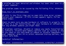 Khắc phục lỗi màn hình xanh trên máy tính