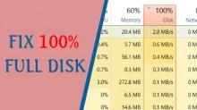 Máy tính báo Disk 100% trên Windows 10, 8.1