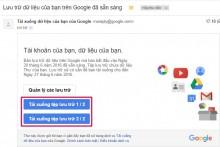 Hướng dẫn tải toàn bộ Gmail về máy tính