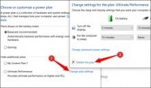 Tăng tốc Windows 10 bằng chế độ Ultimate Performance