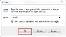 Hướng dẫn tăng tốc tăng tốc Shutdown máy tính bằng Regedit trên Windows 7