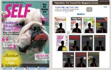 Hướng dẫn cách tạo hình của bạn thành bìa tạp chí