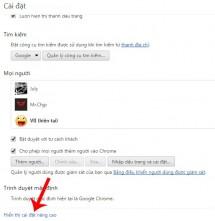 Tắt chế độ yêu cầu lưu mật khẩu của Google chrome