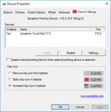 Tự động tắt chuột cảm ứng laptop khi cắm chuột ngoài vào