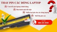 Thay Pin Laptop chính hãng