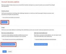 Hướng dẫn thêm số điện thoại, email để phục hồi gmail