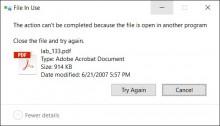 Cách xoá tập tin cứng đầu trên máy tính Windows 7,8.1,10