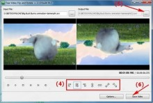 Xoay video với Free Video Flip and Rotate