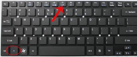 Lỗi touchpad không click đượcđược trái phải