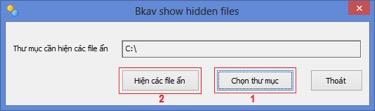 Chọn thư mục và tìm đến địa chỉ USB bị lỗi virus shortcut 1kb