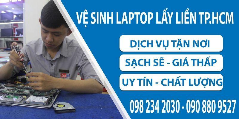 Vệ sinh laptop uy tín cho Sinh viên HCM